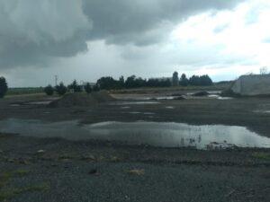 El Municipio negocia con Plantel la posibilidad de hacer asfalto en Claromecó