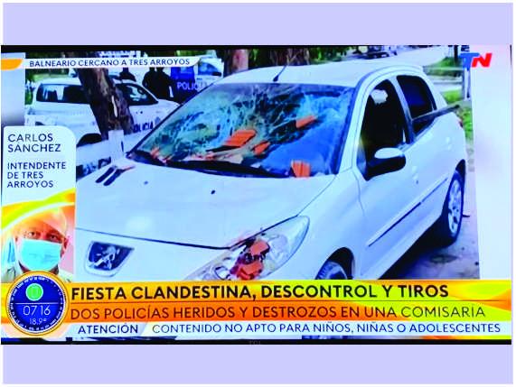 Los disturbios de Reta proyectados al país: Sánchez relató la situación en TN