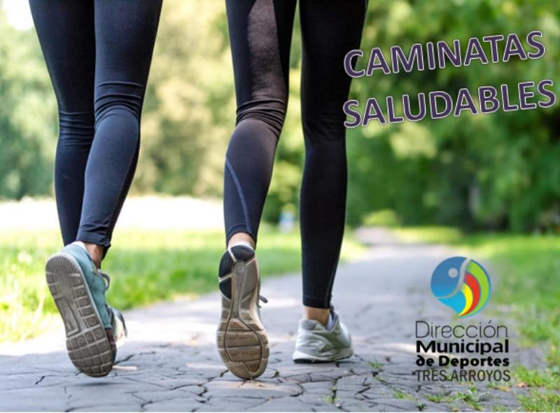Deportes: caminatas saludables en Tres Arroyos y las localidades