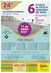 Hoy cierran las anticipadas del concurso pesquero del club Oriente en Marisol