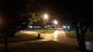 La Plaza sin luz