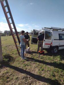 Claromecó: Colocan las cámaras de seguridad adquiridas por el Ente Descentralizado