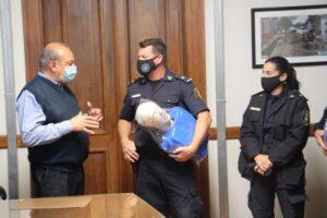Donación del municipio al Centro de Adiestramiento Policial