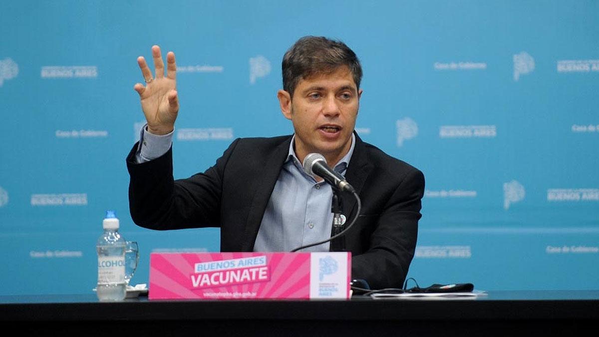 Kicillof anunciará mañana medidas ante situación epidemiológica en el territorio bonaerense