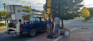 Cambiaron controlador del semáforo de Belgrano y Humberto Primo