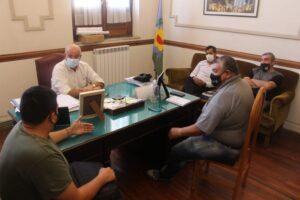 Nueva reunión de Hugo Fernández con el Sindicato Municipal: consensuaron diversas pautas