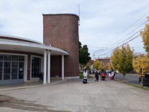 """Vuelta a clases en la Escuela N° 5: """"Se invirtieron 28 millones para la realización de los dos edificios"""" afirmó Mariano Prado"""