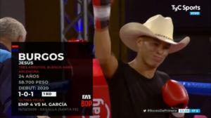 """Box: """"Maquinita"""" Burgos empató con Scaringi"""