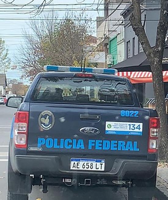 Policía Federal hizo peritajes en Tres Arroyos