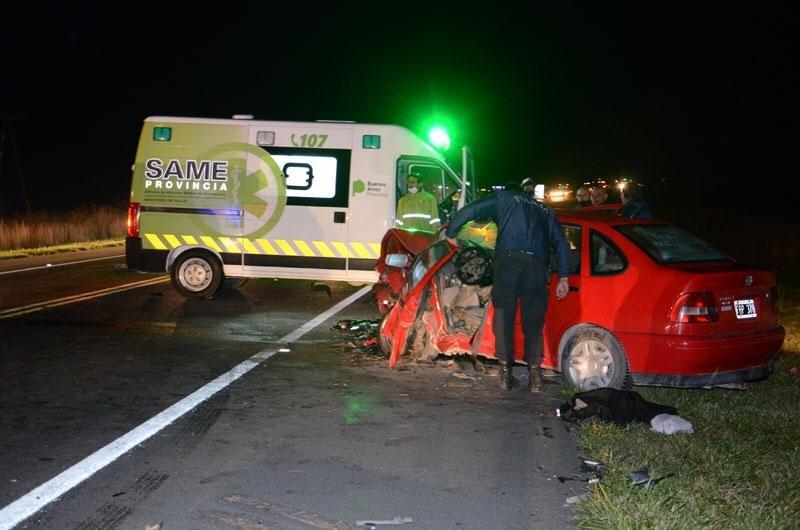 Falleció una mujer tras violento accidente sobre ruta 51