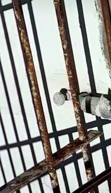 Tras la fuga repararon los calabozos de la estación policial