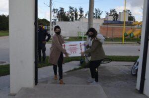 Covid: llegó a San Cayetano un lote de 100 dosis de vacunas