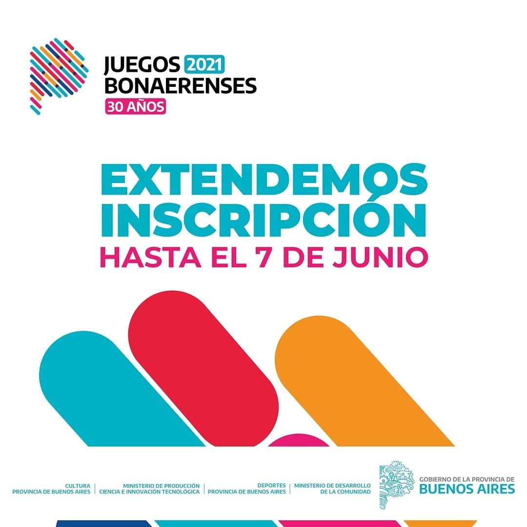 Se extiende la inscripción a para los Juegos Bonaerenses 2021 en disciplinas Culturales