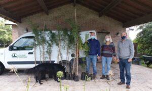 Chaves: se puso en marcha el plan de forestación
