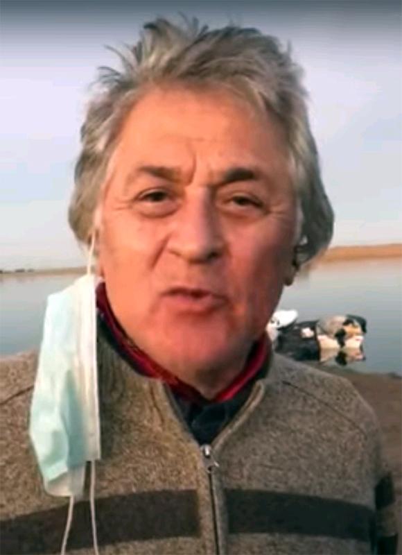 Pescador ilustre en Tres Arroyos (video)