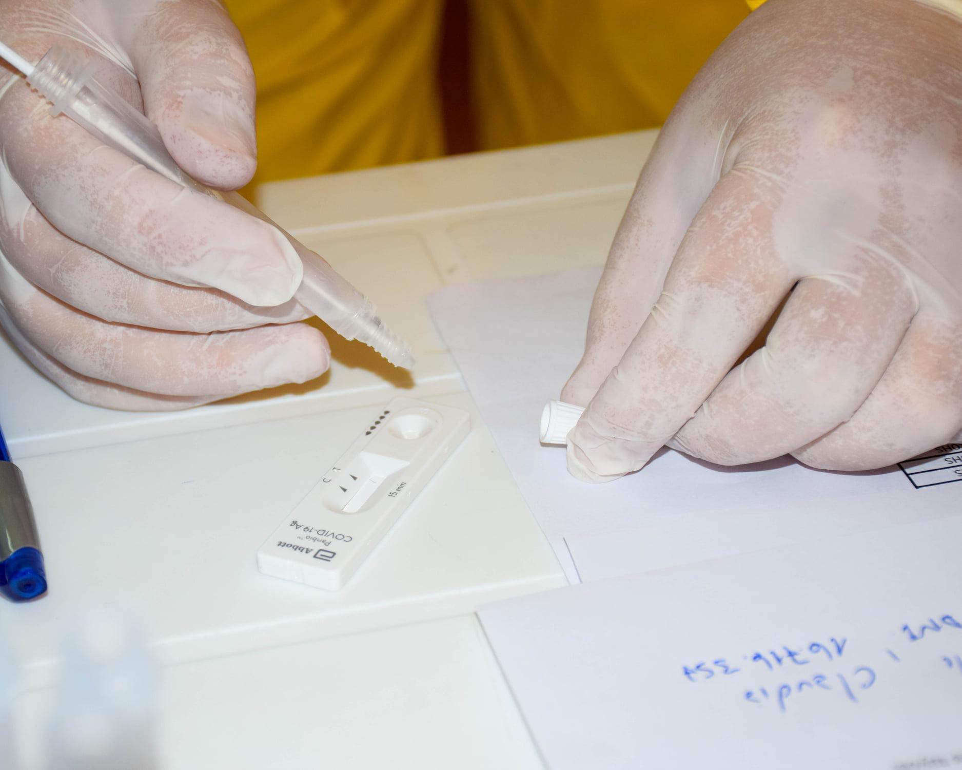 San Cayetano: Realizaron una nueva jornada de testeos voluntarios en el Museo Queipo
