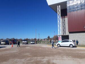 COVID-19: continúa la vacunación en el Polideportivo
