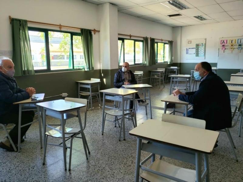 El diputado Garate se reunió con autoridades de la EATA