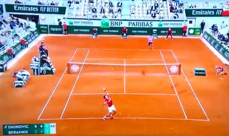 Bautista Sánchez Gándara y un sueño cumplido: ball boy en partido de Djokovic en la Philippe Chatrier