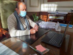 Día de la Seguridad Vial: Sánchez participó de reunión virtual encabezada por Supply