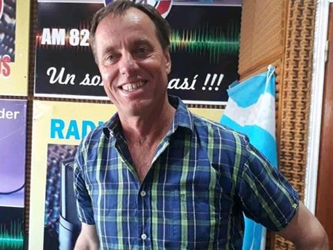 Richard Griffioen y el trabajo en los caminos rurales del distrito