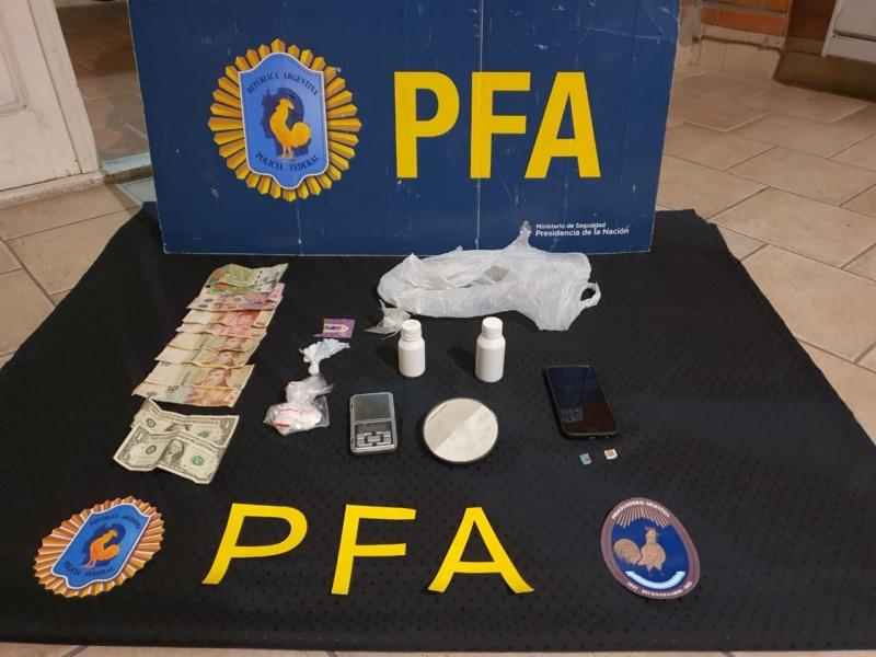 Dos detenidos por comercialización de estupefacientes en Bahía Blanca
