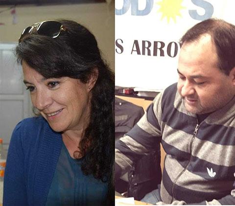 Pity Federico y Paola Salerno encabezan la lista del Frente de Todos