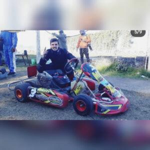 Sebastián Gejo ganó en karting en Saavedra