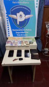 Aprehendidos en Tres Arroyos tras robar dinero en Coronel Dorrego