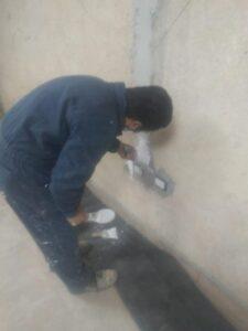 Se avanza con los trabajos de pintura en la Biblioteca del Barrio Boca