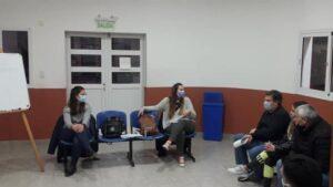 Comenzó el taller sobre Consumos Problemáticos destinado a los clubes de la ciudad