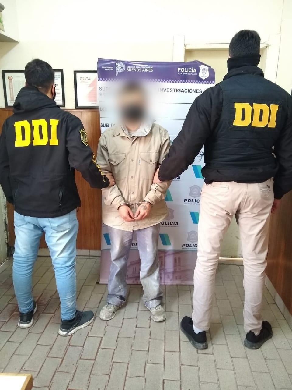Detenido por tenencia de estupefacientes con fines de comercialización
