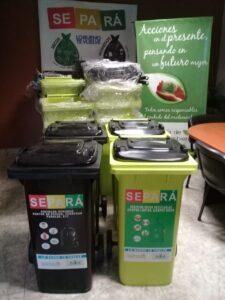 Gestión Ambiental: se incorporaron 10 nuevas estaciones de separación de residuos