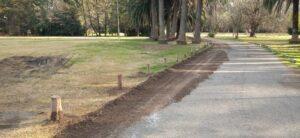 Se realizaron tareas de mantenimiento en el Parque Cabañas