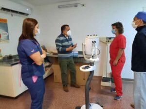 Diagnóstico por imágenes: el Centro de Salud incorporó un inyector de contraste único en el sur del país