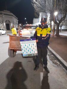 Chaves: aprehendido por robo en una despensa y labraron infracciones varias