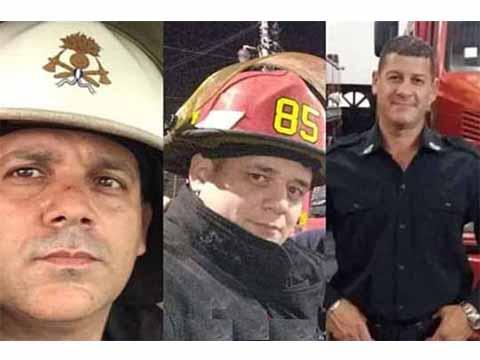 Kicillof decretó tres días de duelo por los bomberos fallecidos