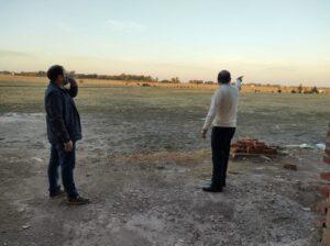 Sánchez y Beitía recorrieron el Polo Educativo y Deportivo