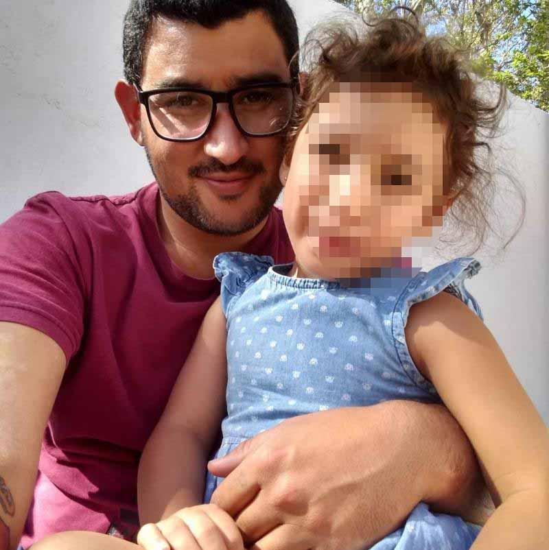 La esposa de Adrián Gómez dijo que su estado es grave,