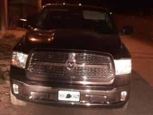 Millonario robo en Tres Arroyos: huyeron en una camioneta que dejaron abandonada