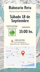El distrito de Tres Arroyos se suma al Día Mundial de la Limpieza