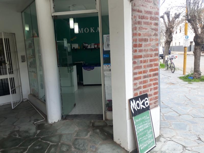 Intentaron robar en el local Moka, de 25 de Mayo y Betolaza