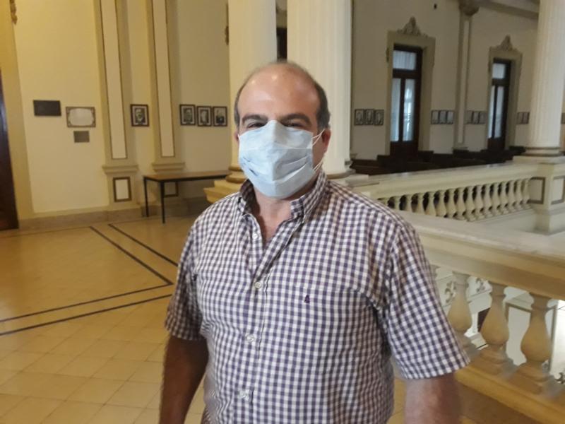 Guerra: no hay internados con coronavirus en la sala general del Hospital