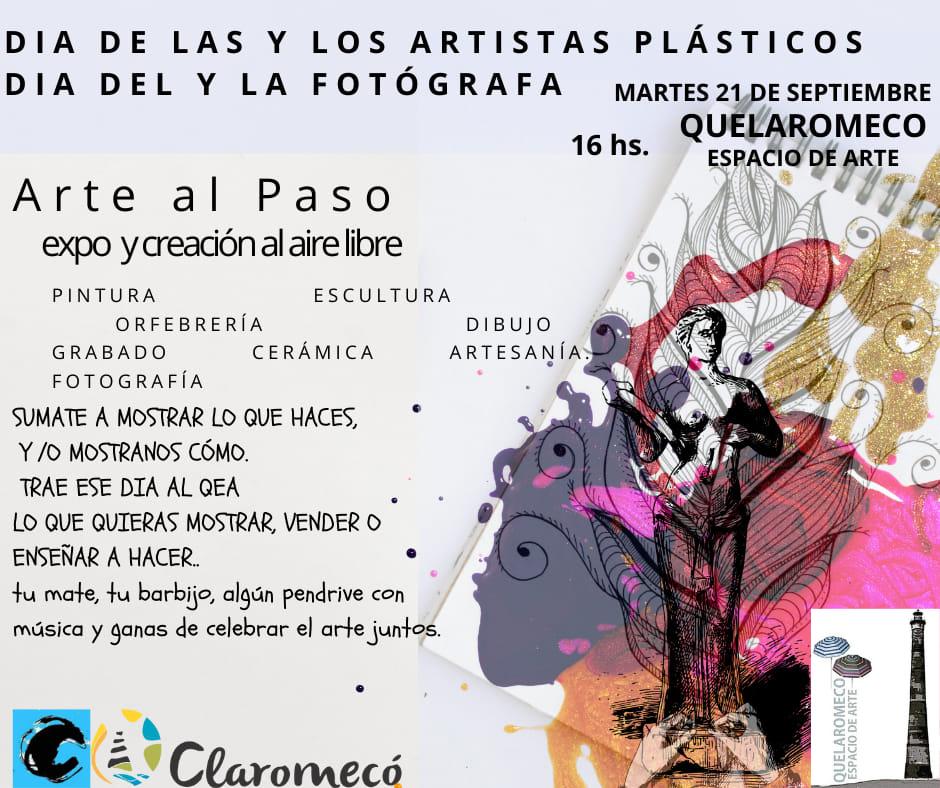 Festejan el Día del Artista Plástico y del Fotógrafo en Claromecó