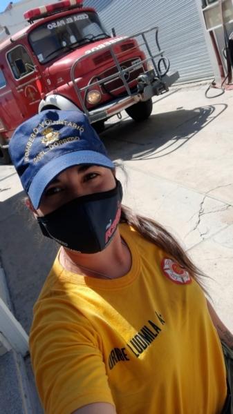 Con 10 años como bombera, Ludmila Uribe contó el rescate de un niño que cayó a un pozo en Dorrego