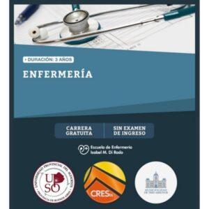 CRESTA: se encuentra abierta la inscripción a Enfermería