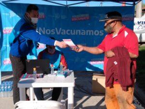 Vacunación itinerante: Inició hoy en el Barrio Municipal