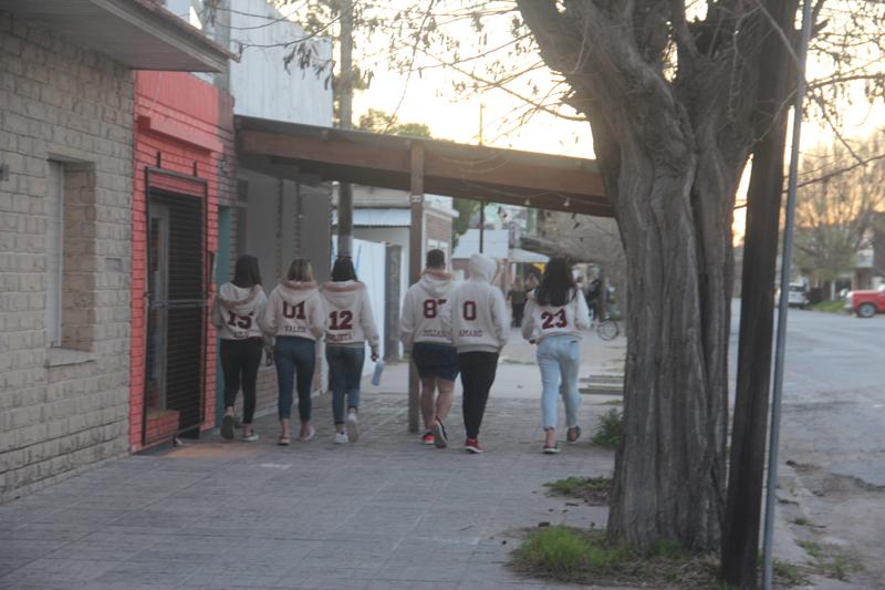 Claromecó: la juventud festeja la llegada de la primavera