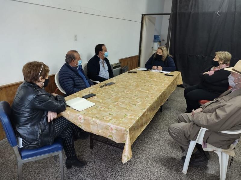Sánchez se reunió con fomentistas en Bellocq