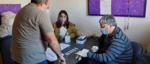 Testeos voluntarios de COVID-19 a docentes